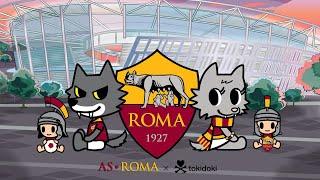 tokidoki x AS Roma presents 'The Legend'