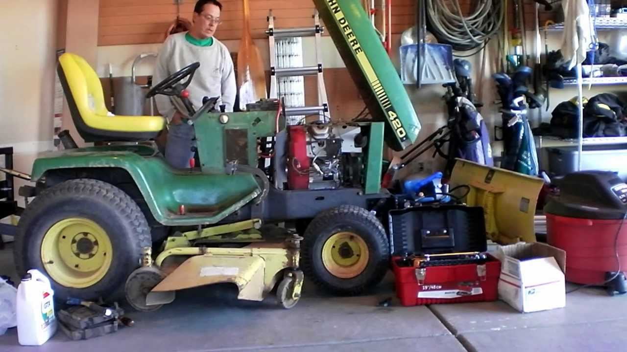 tractor pto hook up Where do you hook up the pto cable for the mower deck - craftsman 21 hp 42 deck, ys 4500 lawn question.