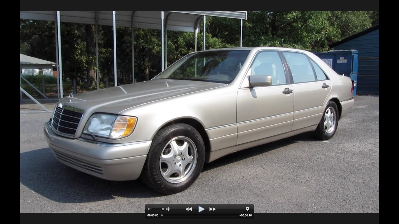 1997 mercedes benz s500 start up exhaust and in depth for Mercedes benz c500