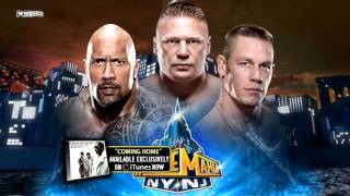 "WWE 2013: WrestleMania 29 Theme Song ""Coming Home"" With"