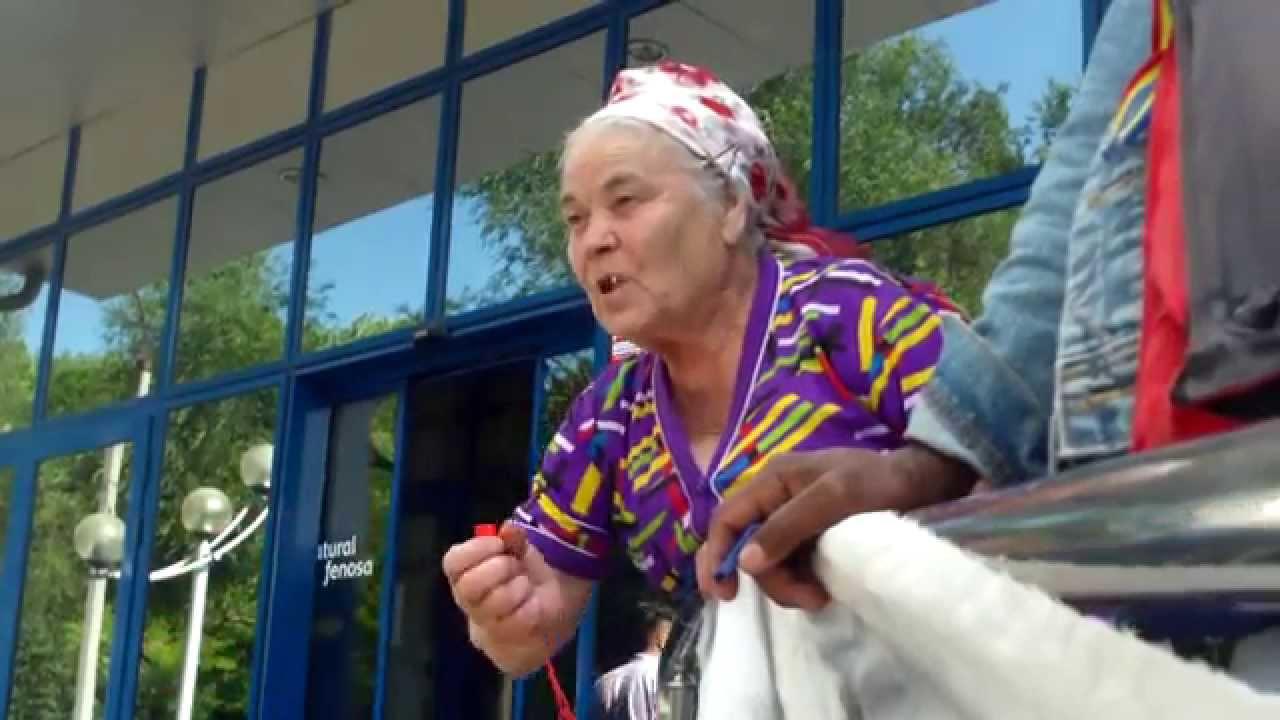Bunica Vera nu se mai rușinează de protest