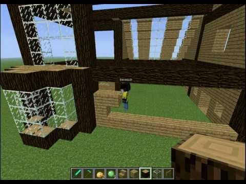 Minecraft construction de ma maison tuto minecraft construction de - Video de minecraft construction d une ville ...