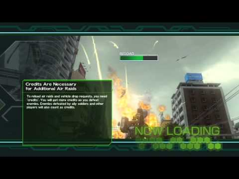 Earth Defense Force 2025 *Wing Diver Bad Weapon* Cyclone Laser Lv50