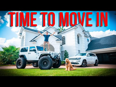 MOVING INTO MY NEW HOUSE!!!