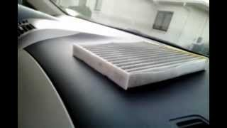 Cabin Air Filter Replacement Toyota Corolla 2011