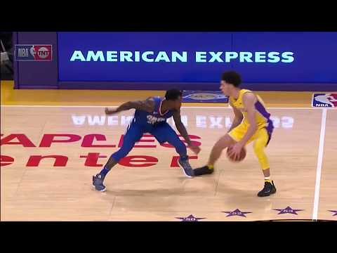 Lonzo Ball vs Patrick Beverley  Beverley mocks Lonzo but gets revenge with crossover