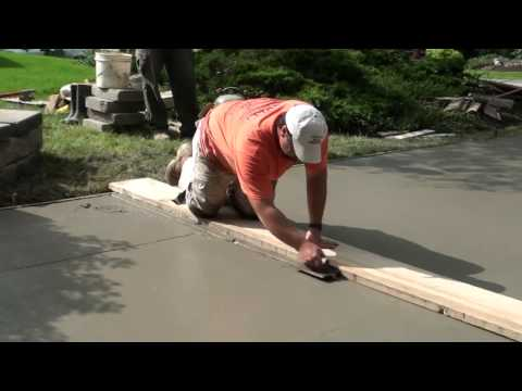 Lay concrete driveway images frompo 1 for How to pour a concrete driveway