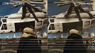 Battlefield 4 1080p High: GTX 750 Ti Vs. R7 260X Frame