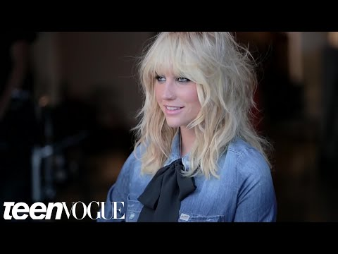 An Exclusive Interview with Cover Star Kesha -- Teen Vogue's The Cover