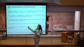 ICMS e ISS no transporte de cargas e na logística – Aspectos fiscais – Curso realizado pela instrutora Ivonizia Fonseca Cunha na sede do CRC/PR – Parte 4