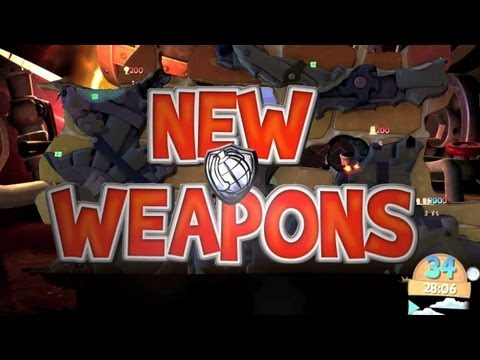 Worms Clan Wars: New Weapons