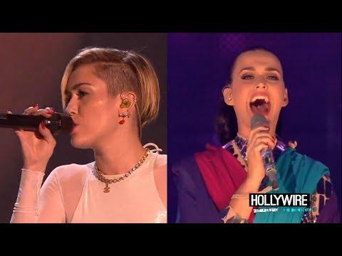 Miley Cyrus Vs. Katy Perry: Best MTV EMA Performance?!