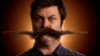 Nick Offerman's Stachedance — Movember 2013