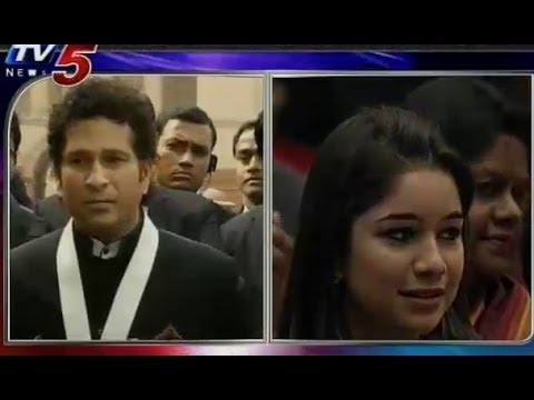 Sachin Talks to Media on Receive Bharat Ratna