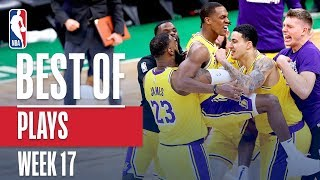 NBA's Best Plays | Week 17