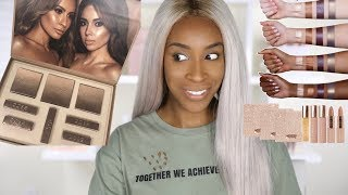 Trying Desi X Katy's Makeup Collection! | Jackie Aina