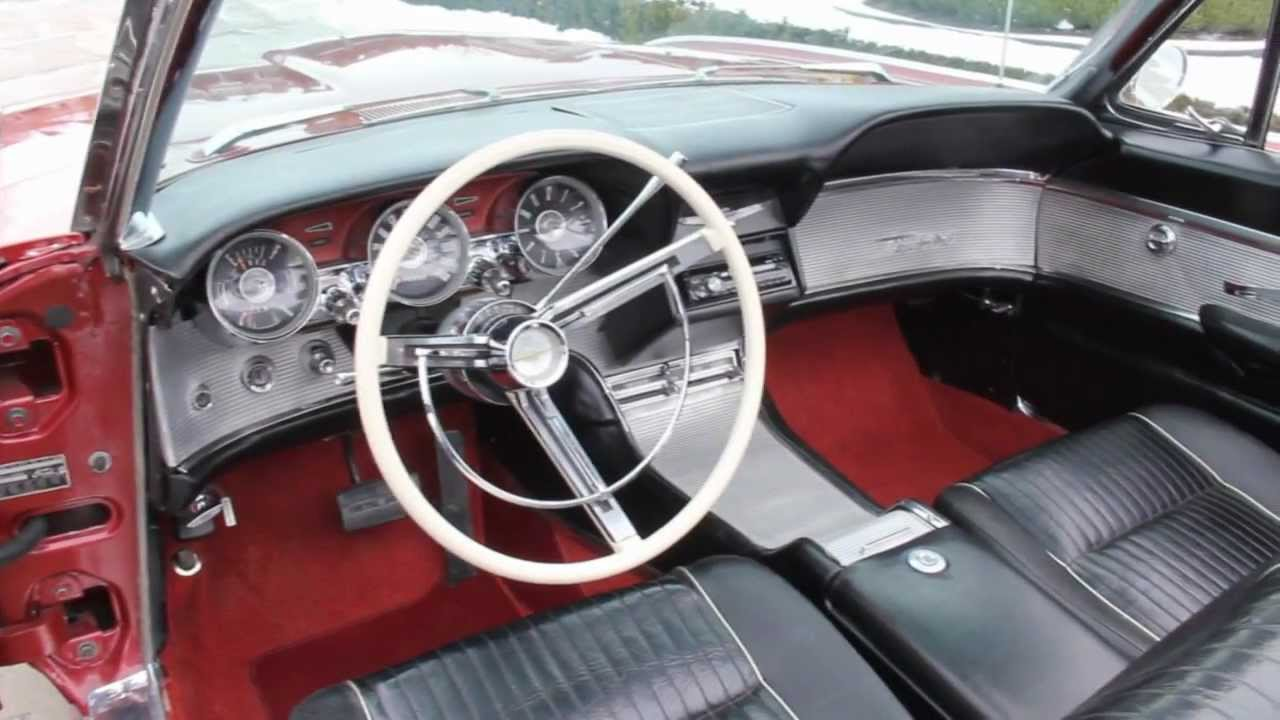 1962 Ford Thunderbird Convertible Classic Muscle Car For Sale In Mi Vanguard Motor Sales Youtube