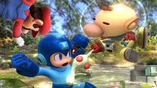 Super Smash Bros 4 Characters: Olimar Trailer (WII U / 3DS