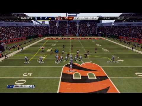 Madden 25 PS4 - Indianapolis Colts vs Cincinnati Bengals - NFL 2013 Week 14 - 1st Qrt - HD