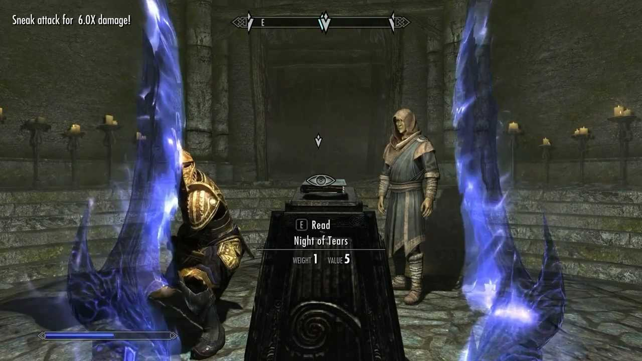 skyrim fellglow keep how to beat the caller