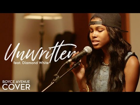 Unwritten - Natasha Bedingfield (Boyce Avenue ft. Diamond White acoustic cover) on iTunes & Spotify