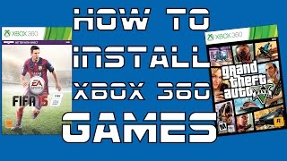 How To Install Xbox 360 Full Games NON-JTAG USB *Voice