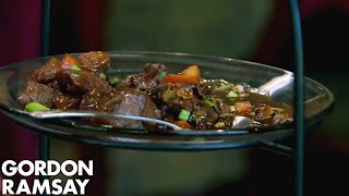 Frozen Food Doesn't Sit Well with Gordon Ramsay | Hotel Hell