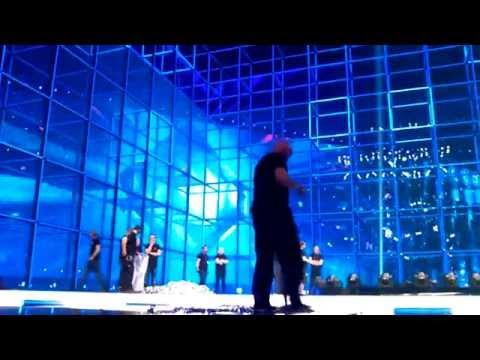 Post show clean up - Eurovision stage Copenhagen