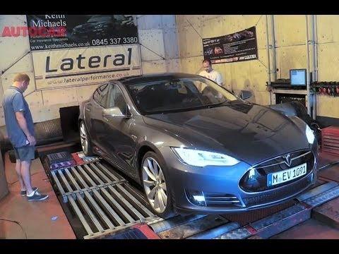 Just how much power does a Tesla Model S produce?