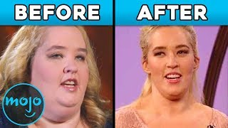 Top 10 Celeb Transformations - Before and After!