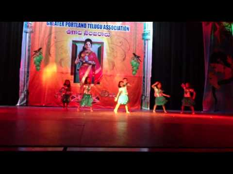 Kavya and friends dance