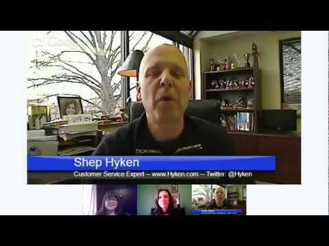 Customer Service Hangout: Shep Hyken with Marilyn Suttle and Lori Jo Vest