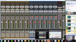 Pro Tools 9 10 & Reason 5/6 How to Rewire Reason to Pro Tools for Mastering Seperate Audio Tracks HD view on youtube.com tube online.