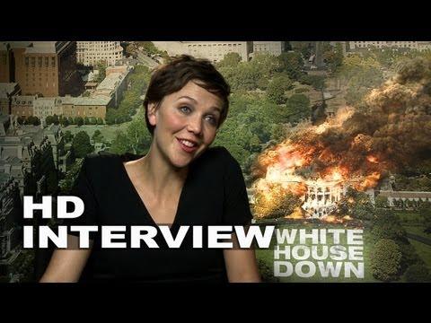 White House Down: Maggie Gyllenhaal Junket Interview
