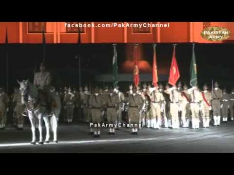Azadi Parade at Pakistan Military Academy (PMA Kakul) 14th August 2012- Pakistan Army
