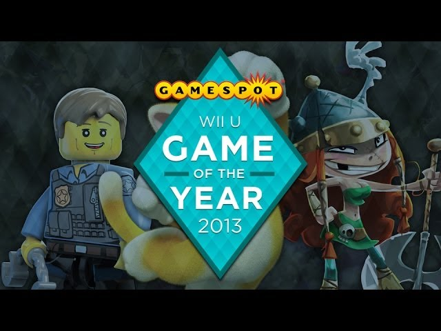 Wii U Winner - Game of the Year 2013