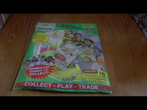 VAN PERSIE LIMITED EDITION  ☆ STARTER PACK  ☆ ADRENALYN XL 2014 FIFA WORLD CUP TCG OPENING panini