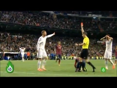 Sergio Ramos EXPULSIÓN INJUSTA en el Clásico. 23 marzo. Madrid - Barcelona