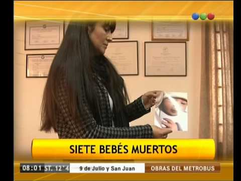 Siete bebés muertos en Córdoba - Telefe Noticias