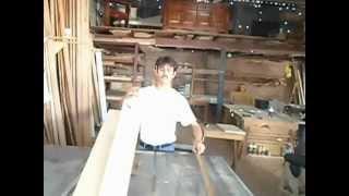 Carpintería - Como enderezar madera