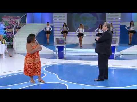 Mulher Fruta Pão tenta vencer o desafio de chegar aos 110 quilos
