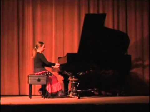 Bach French Suite in E major by Rachel Breen, age 10
