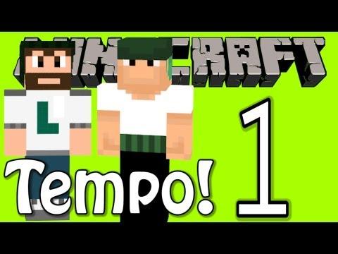Minecraft - Túnel do Tempo #1 (ft. Leon e Monark)