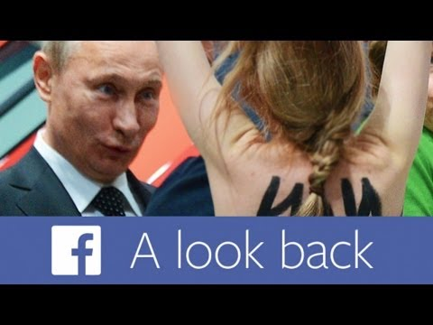Putin - 10 Years on Facebook Lookback video