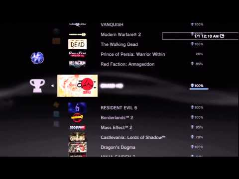 (PS3) Trophy Collection 2014- 101 Platinum's-Collecting Since 2010