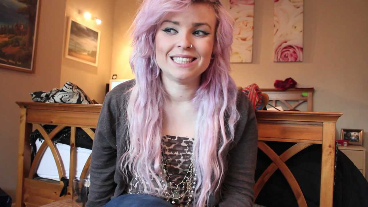 how to get pastel pink and purple hair