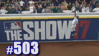 ROBBING HOMERS AS A MARINER! | MLB The Show 17 | Road to the Show #503