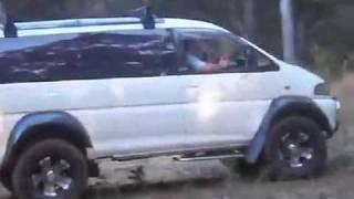 Mitsubishi Delica - минивэн внедорожник