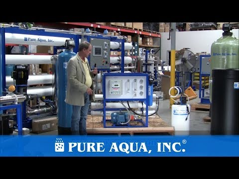 Pure Aqua| Commercial SWRO Kit Saudi Arabia 3,000 GPD