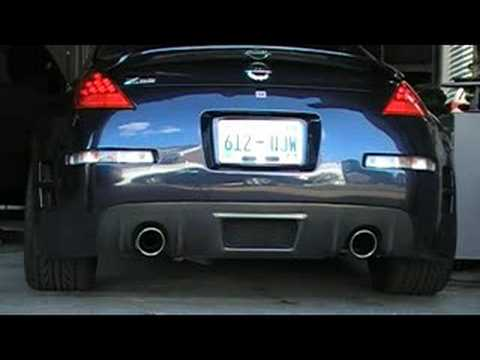 2007 350Z Stock exhaust
